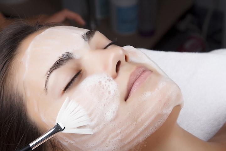 Öka lystern i huden med en oxygenating ansiktsmask
