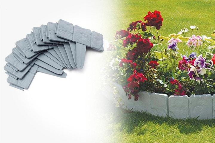 20-pack palisadegjerder til hage og plen
