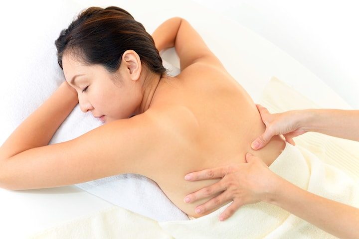 Meridan Massage hos Unikvård