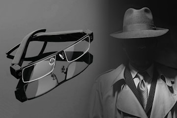 Spionbriller med full HD videoopptak