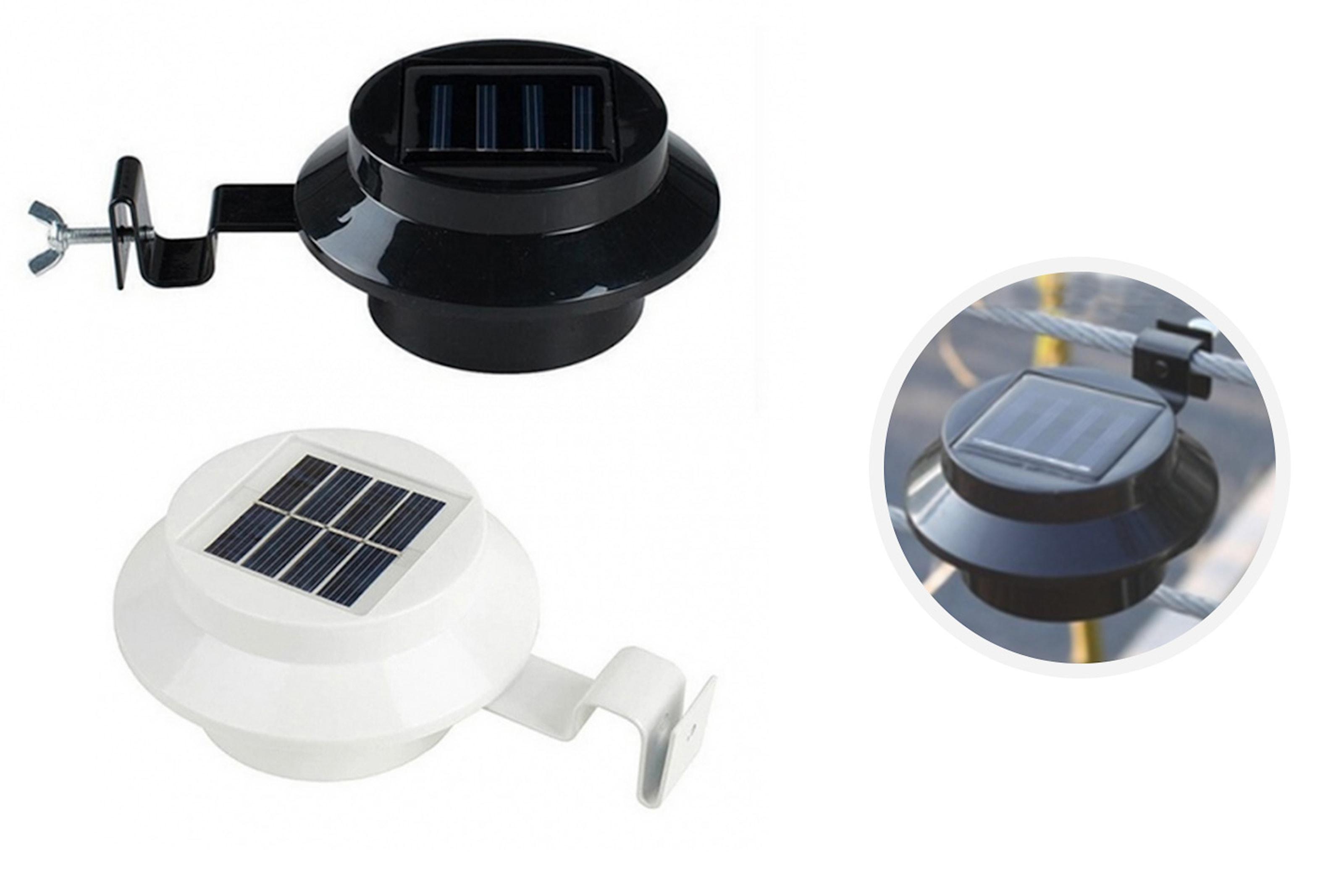 LED-ljus med solceller
