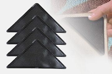 Silikonfäste för matta 4-pack