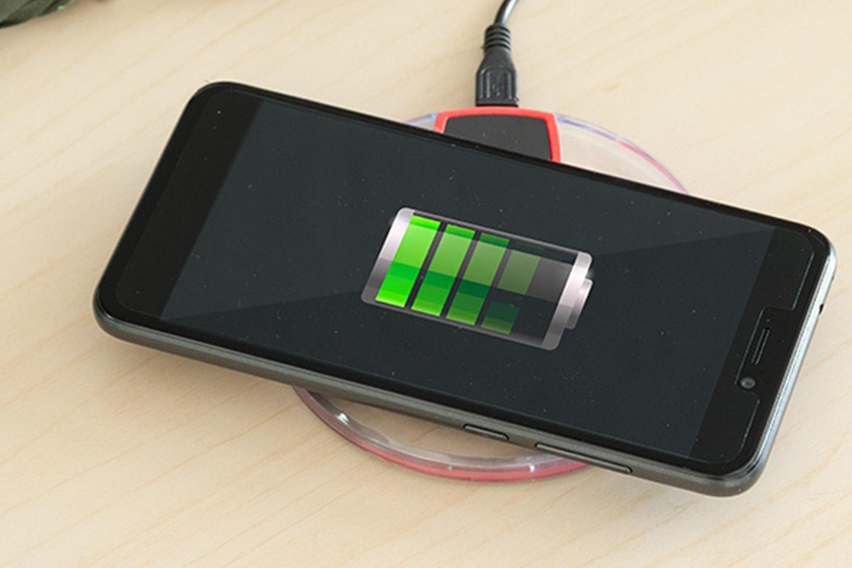 Trådlös Qi-laddare för smartphones