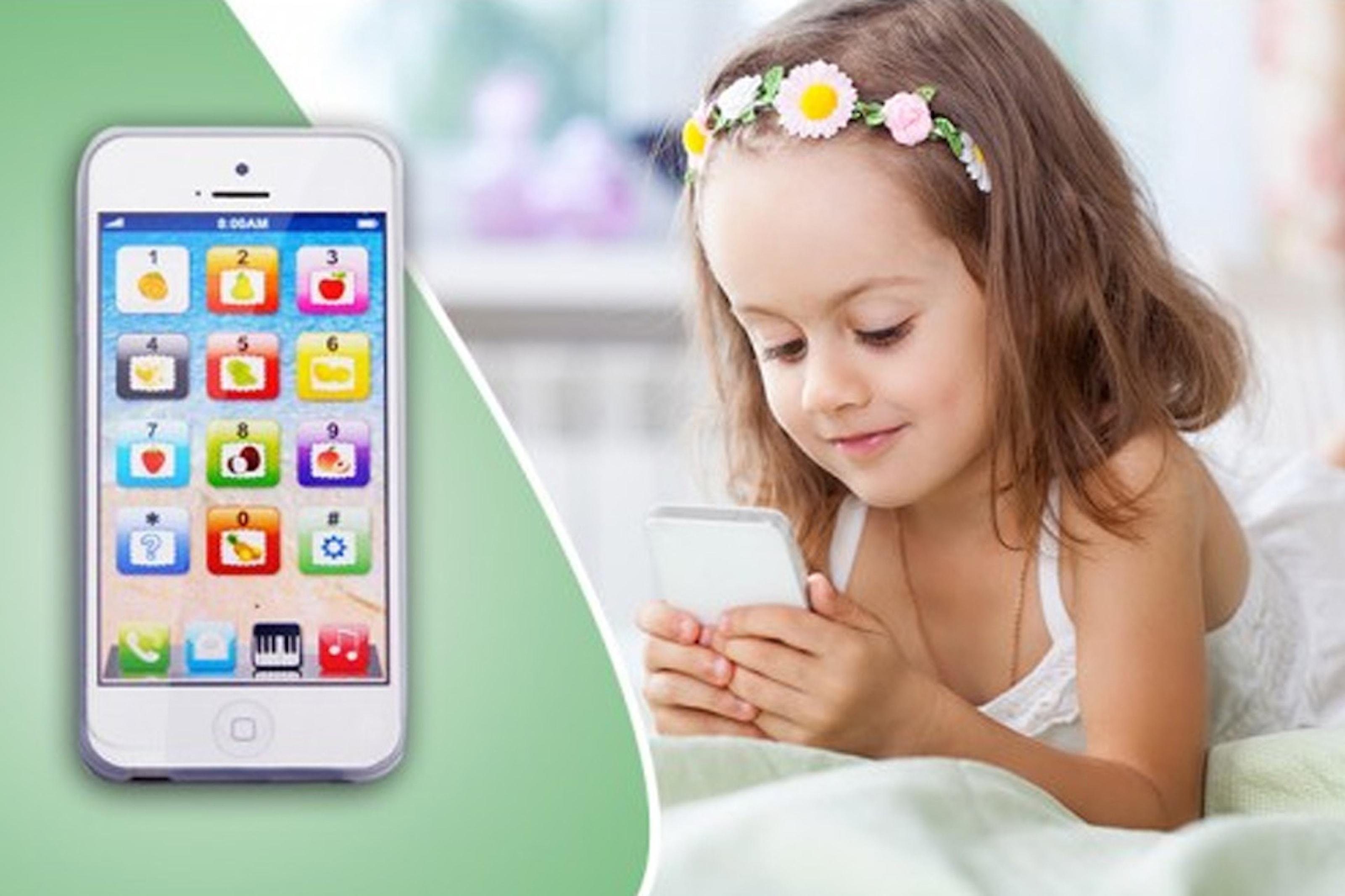 Leketelefon til barn
