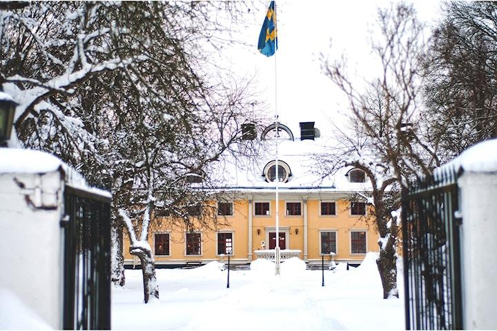 Herrgårdslyxpaket för 2 på Söderfors Herrgård