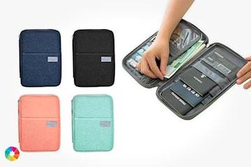 Väska för pass och resedokument