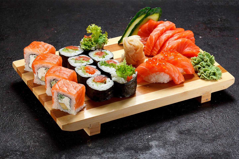 50 eller 80 biter sushi fra Deilig Thai & Sushi i hjertet av Oslo (1 av 1)