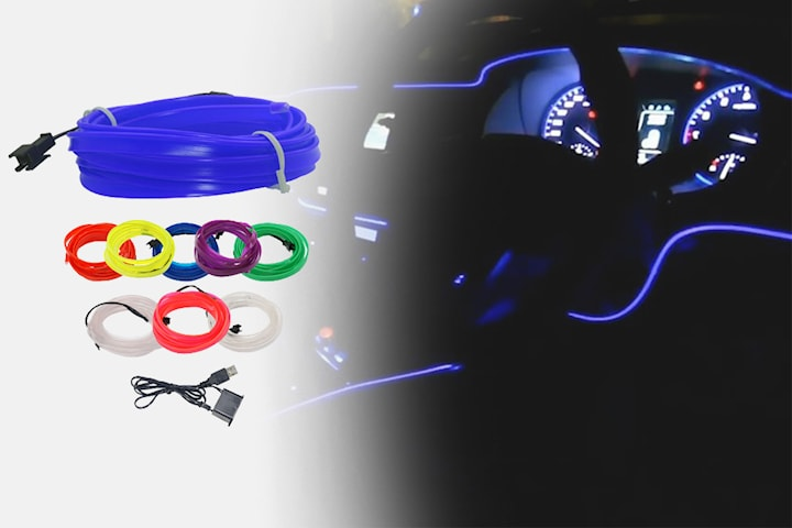 LED-strips till bilen