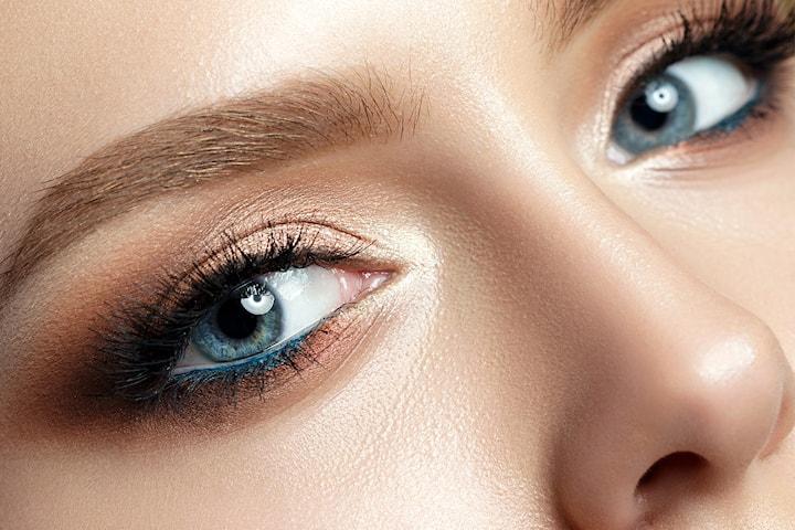 Makeup inkl. lösfransar, 60 min