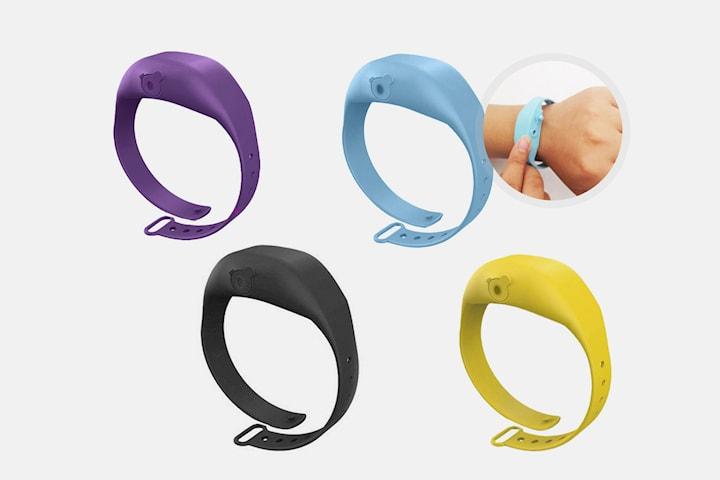 Armband med dispenser