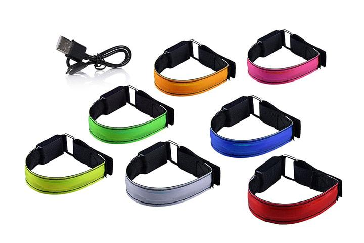 Reflexband med LED-ljus