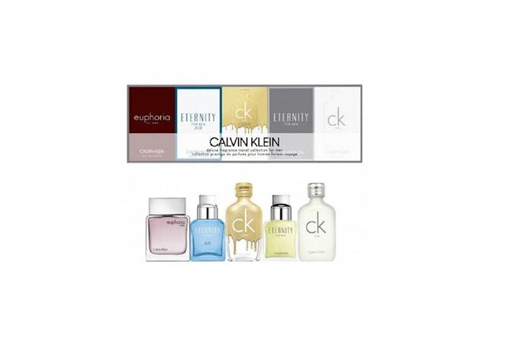 Giftset Calvin Klein Deluxe Travel Collection For Men 5 x Edt 10ml