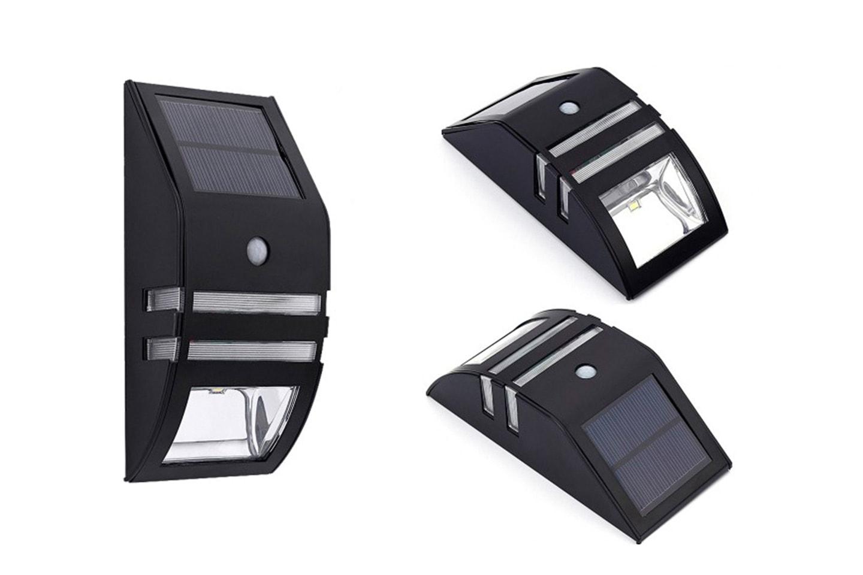 Solcellslampa med rörelsesensor