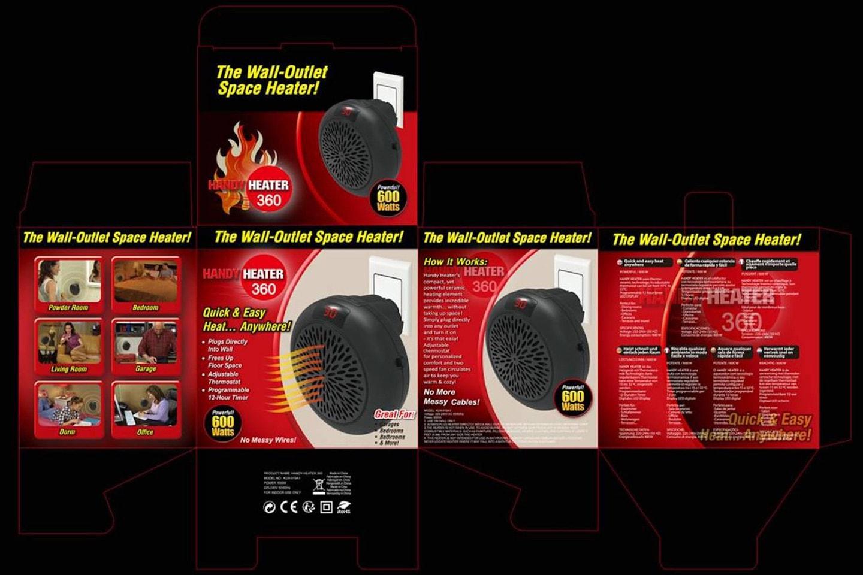 Wonder heater – mini varmevifte som plugges rett inn i veggen