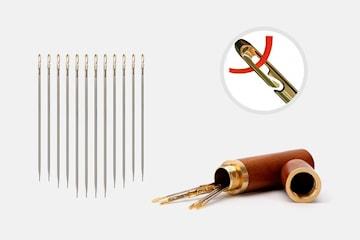 Synål med smart nåløye