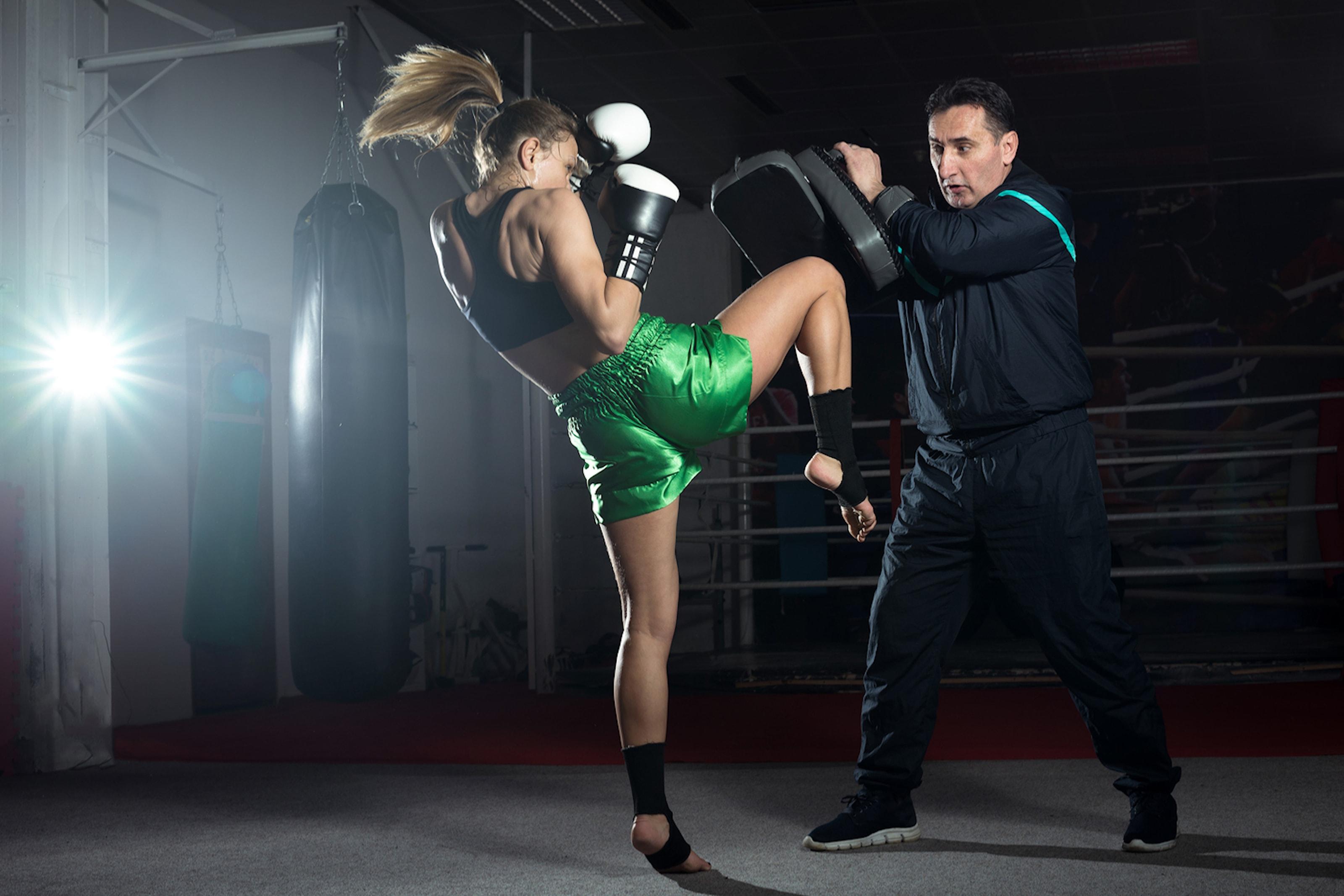 Prova på kick- eller thaiboxning