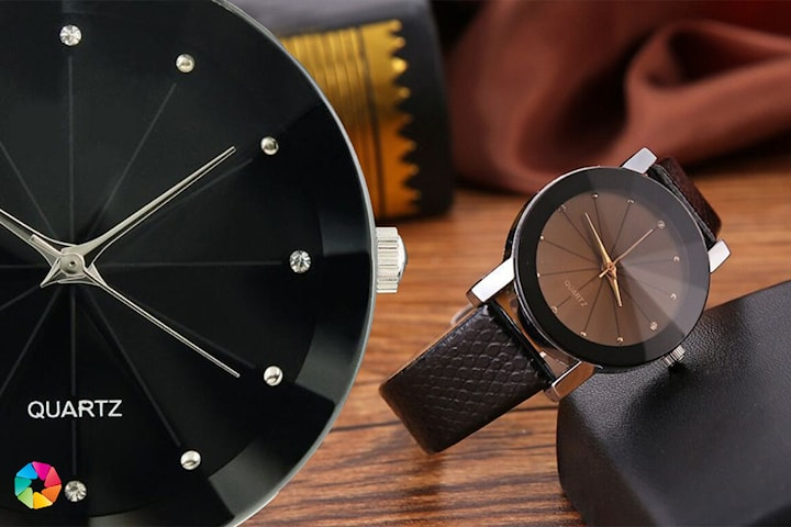 Luksuriøs klokke