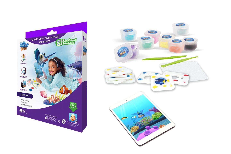 Spel från Toy IQ: Ocean Pets, Bandari's Beats eller TJ´s Tangram
