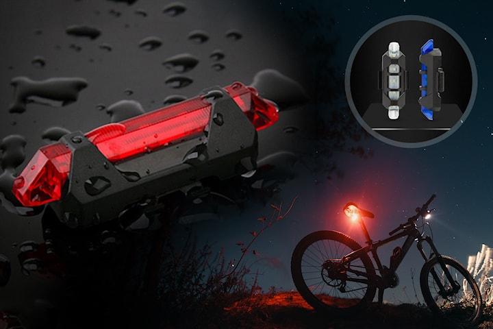 Cykellampor med LED