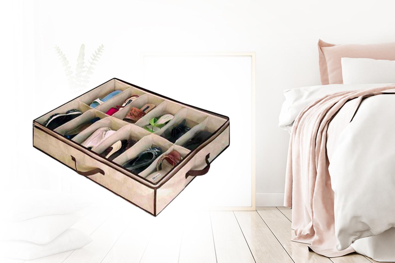 Smart skooppbevaring med plass til 26 par sko | Tilbud