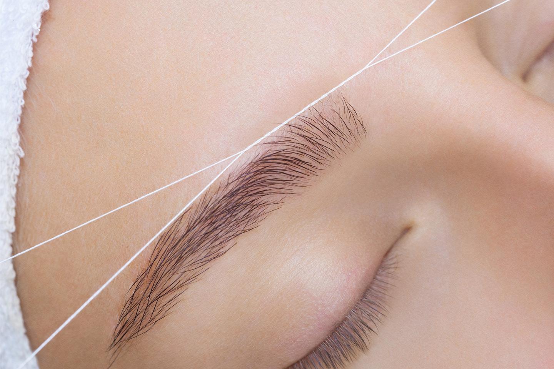 Hårfjerning med threading av hele ansiktet hos Beauty Center Drammen (1 av 1)