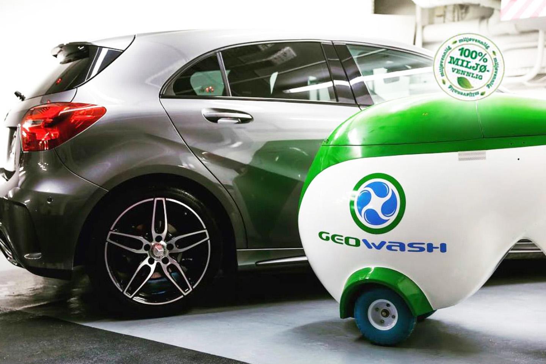 Få en skinnende ren bil med miljøvennlig håndvask (1 av 1)
