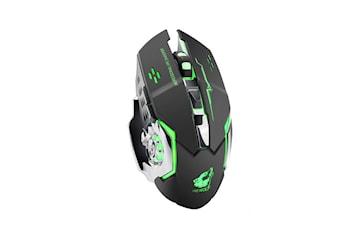 X8 Trådlös 2,4GHz Gamingmus med LED Belysning