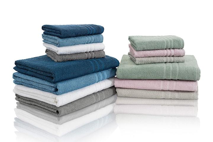 Borganäs Basic handdukar 4- eller 8-pack