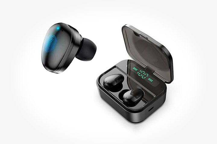 Trådløse øreplugger med Smarttouch
