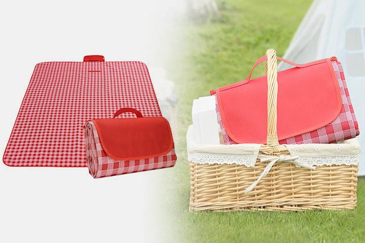 Filt för picknick