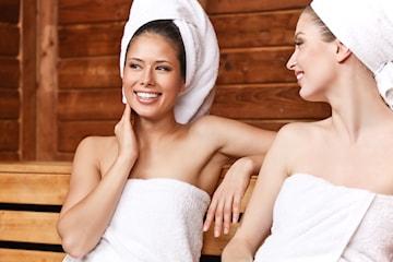 Infrarød sauna med fantastisk fotmassasje, 1, 3 eller 5 behandlinger