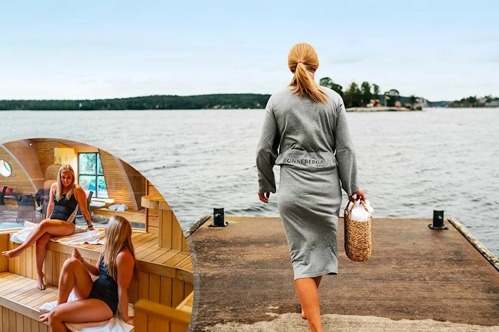 Spa, boende och middag för 2 hos Rönneberga på Lidingö