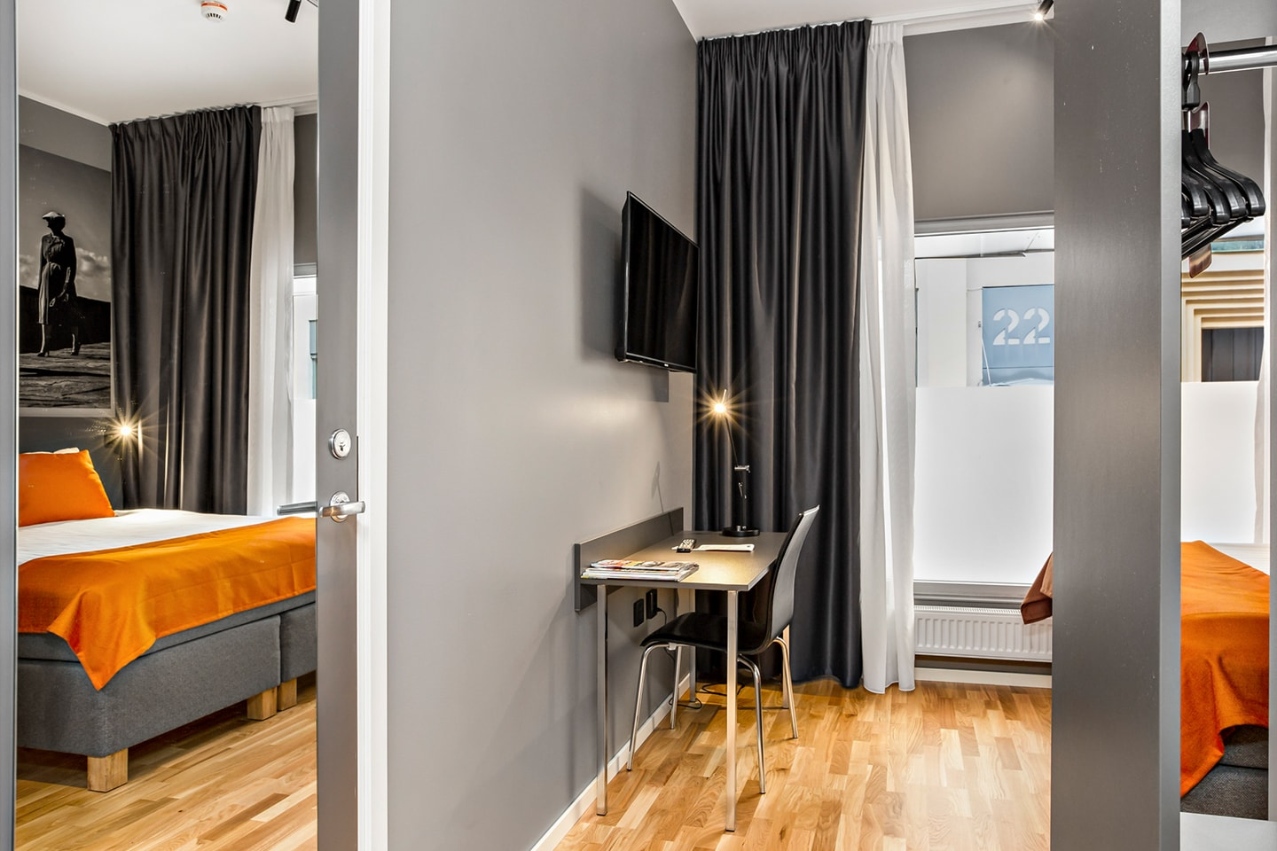 Overnatting for 2 personer på Connect Hotel City i Stockholm