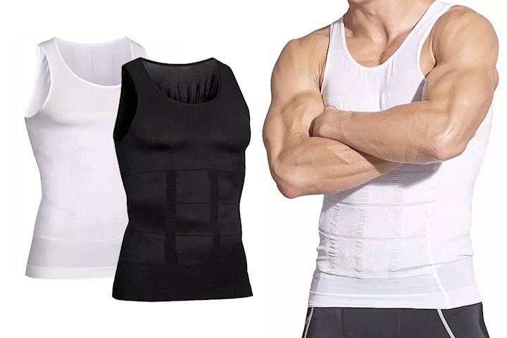 Slimming-skjorte for menn