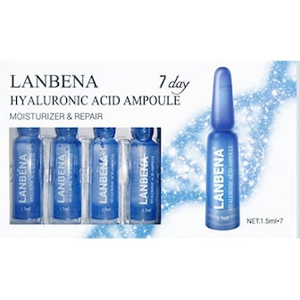 Hyaluronic Acid, 2-pack, 14 dagar,