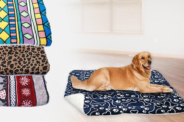 Koselig varmt teppe til hund og katt