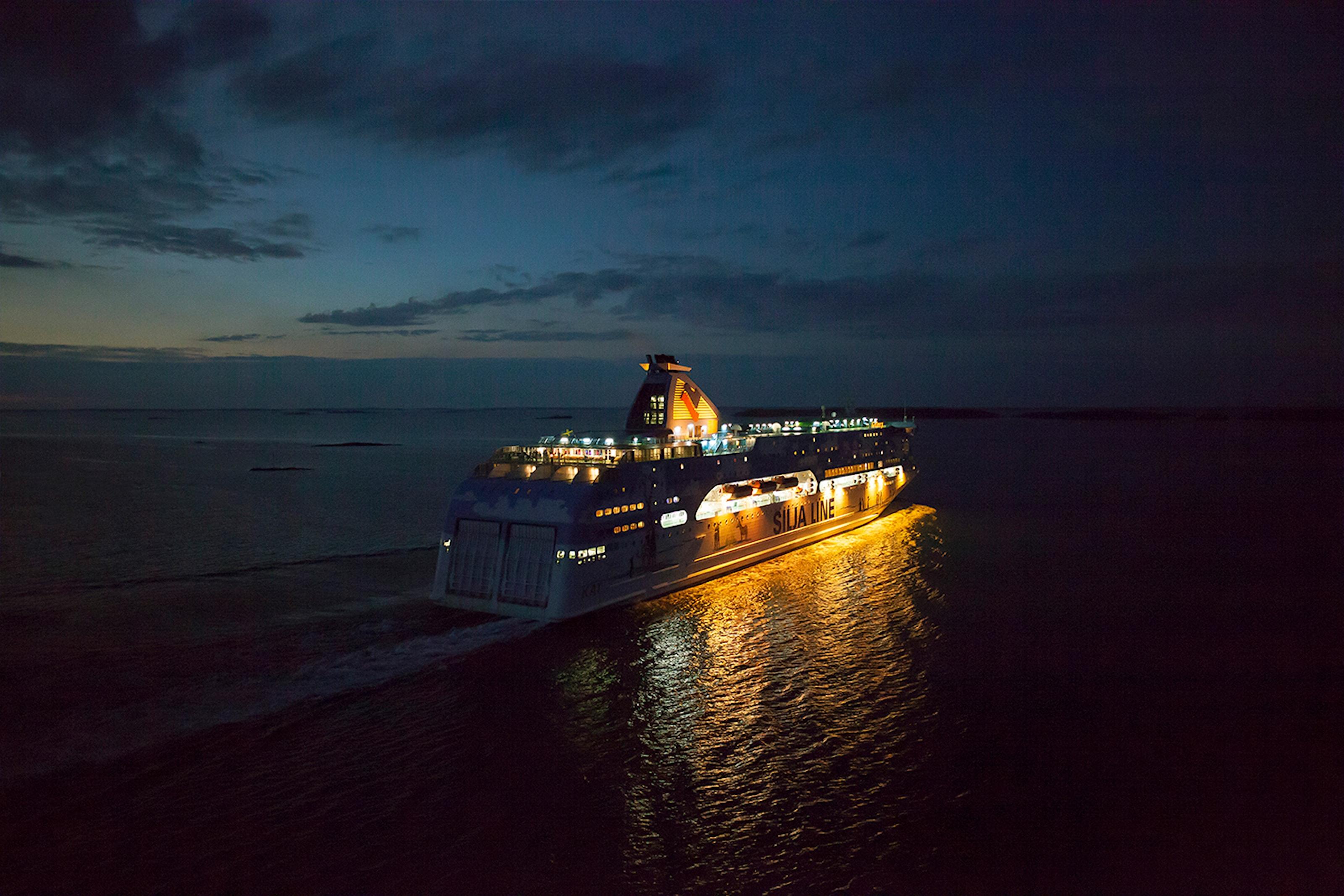 23-timmarskryssning med Silja Line Galaxy