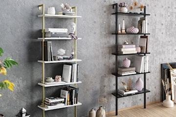 Hanah Home bokhylla i 2 modeller