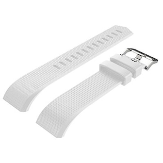 Vit, Silicone Watchband For Fitbit, Armband för FitBit Charge 2, ,