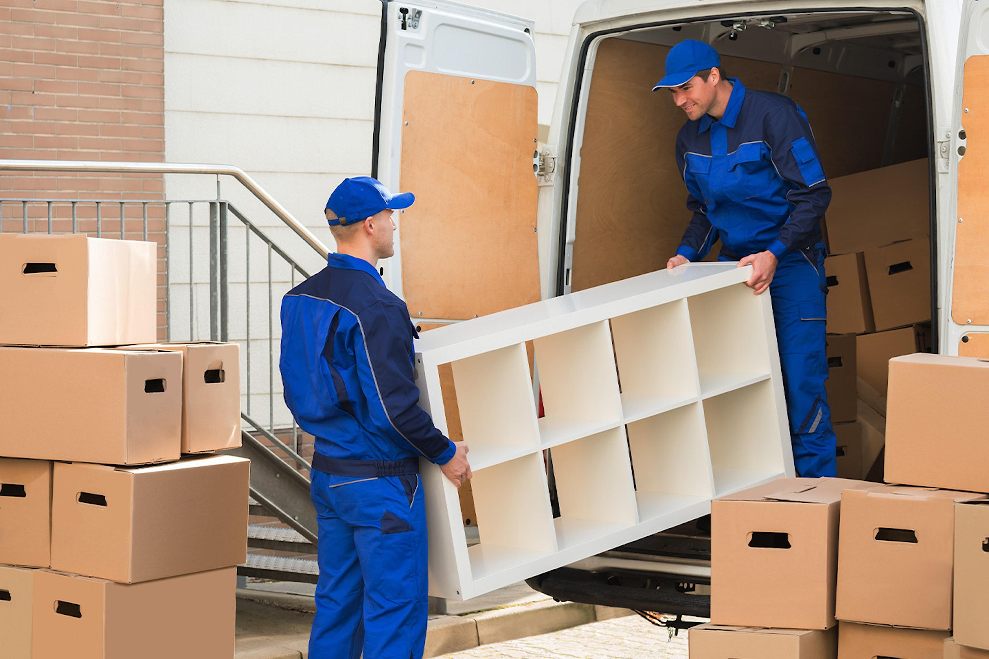 Profesjonell flyttehjelp opp til fem timer (inkl. to personer og bil)