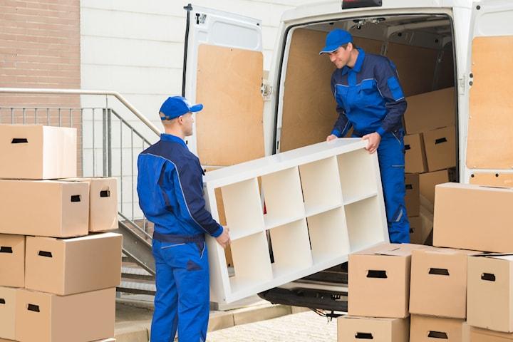 Flytthjälp från DPM Städ och Flytt