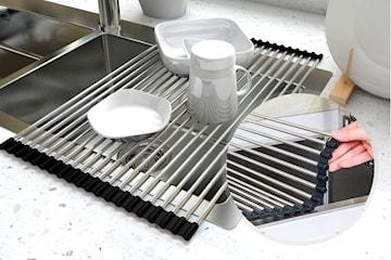 Sammenleggbart servant til oppvasken