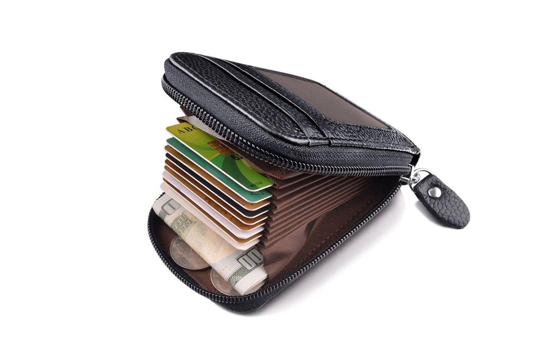 Lommebok i skinn