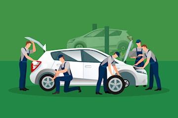 Mobilt däckbyte med eller utan förvaring
