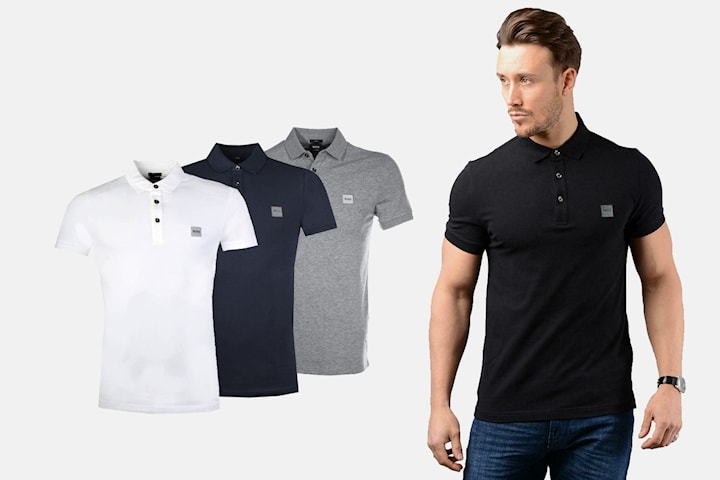 Hugo Boss pikéskjorte