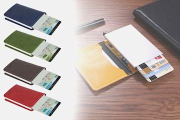 Tynn, RFID-sikker kortholder