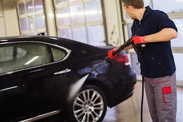 Biltvätt, välj mellan 2 olika alternativ