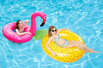 Badring ananas eller flamingo