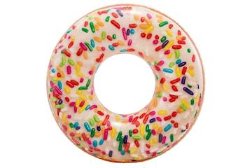 Uppblåsbar Badring, Intex - Donut