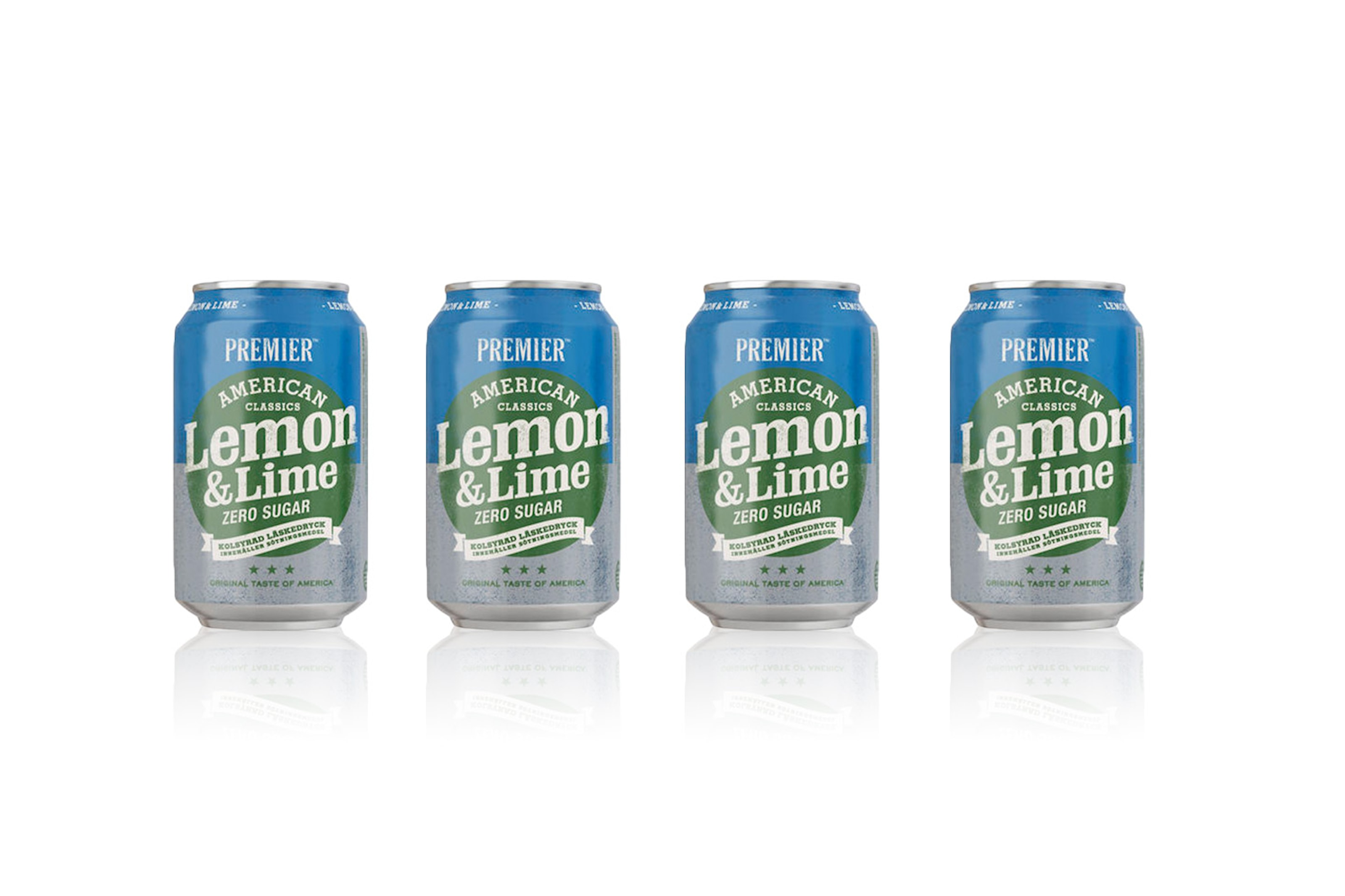 18-pack Premier Lemon & Lime Zero Sugar